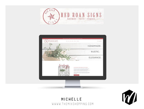Red Roan Website Launch - Website Design Services The Mix