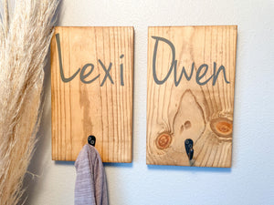 Custom Name Hook Sign