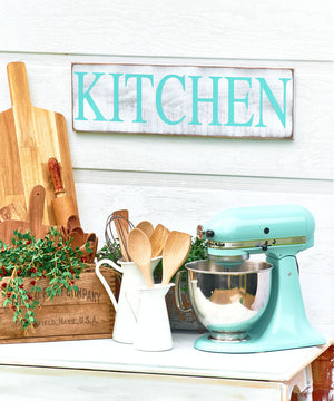 Kitchen Wood Sign - Wood Signs for Kitchen - Gift for Her