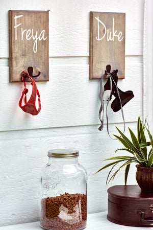Leash Holder Hook Sign