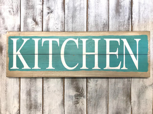 Kitchen Wood Signs - Home Decor - Kitchen Decor - Red Roan Signs | Custom Rustic Home Decor