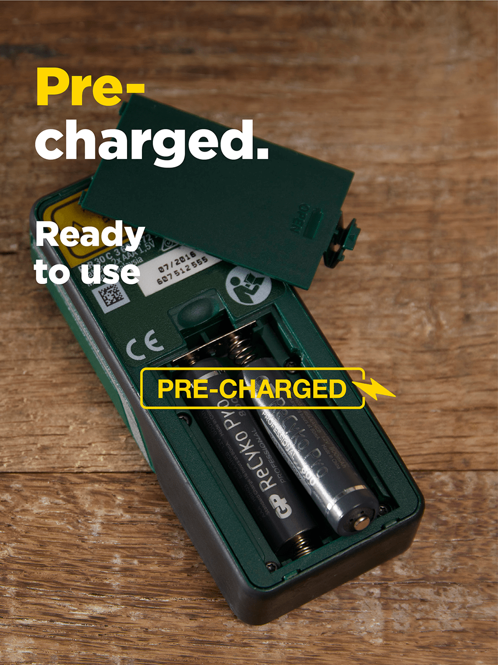 recyko battery - pre charged