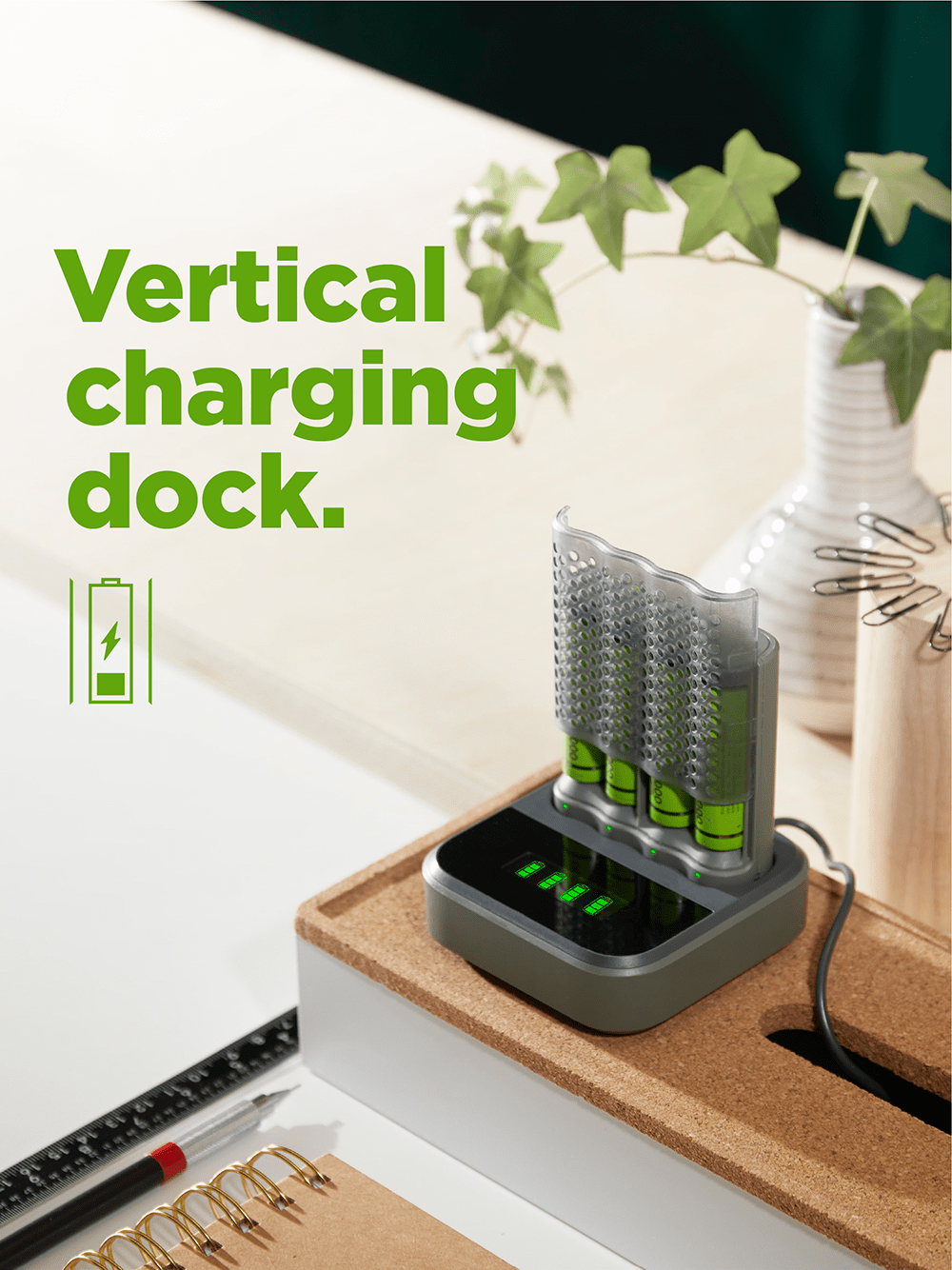 recyko speed charger dock - vertical charging dock
