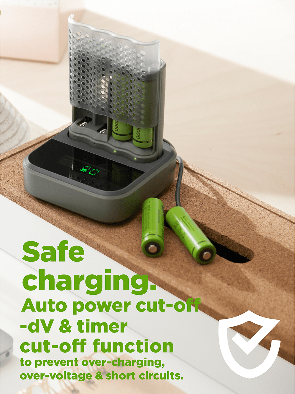recyko speed charger dock - safe charging