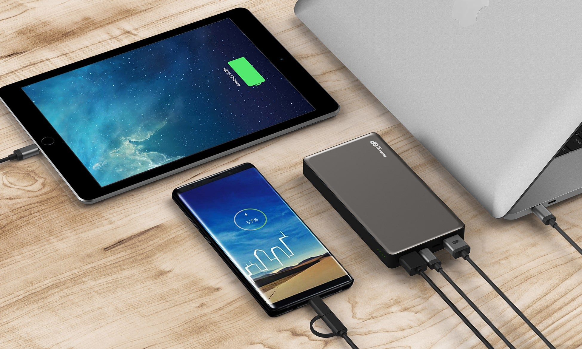 gp powerbank mobile charger - ipad and smart phone charging