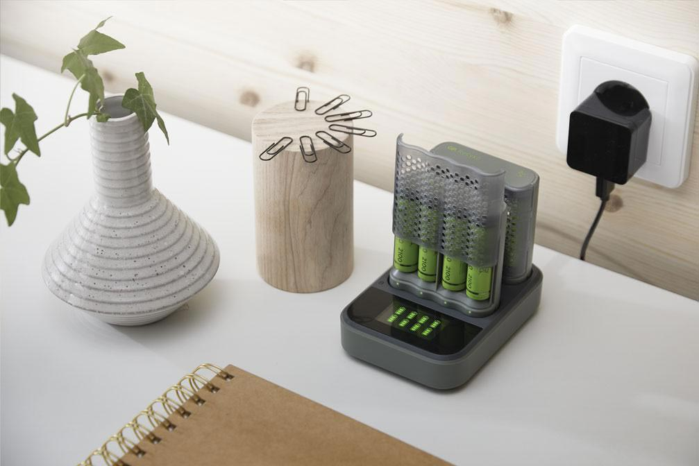 eco-friendly rechargeable batteries - charging rechargeable batteries