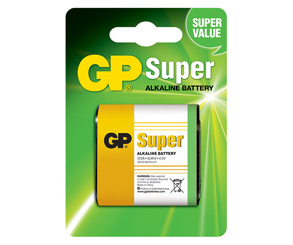 GP Super Alkaline 4.5V 312A