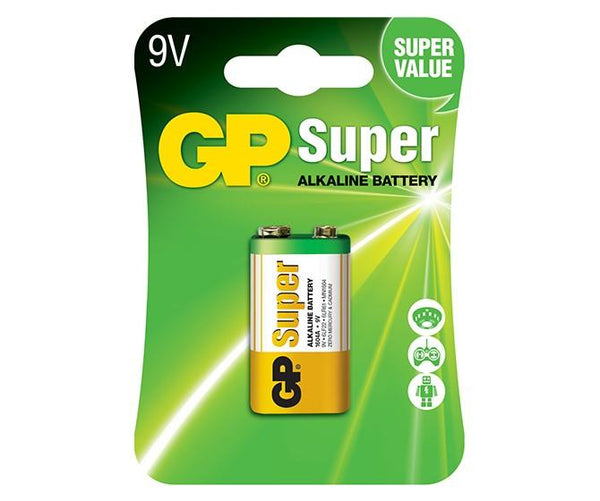 GP Super Alkaline 9V