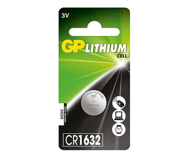 GP Lithium Button CR1632 (DL1632)