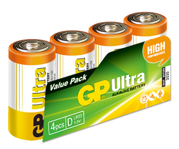 GP Ultra Alkaline D box of 4