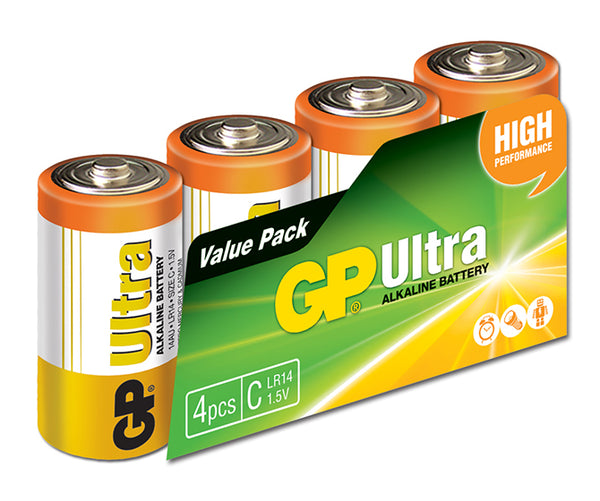 GP Ultra Alkaline C box of 4