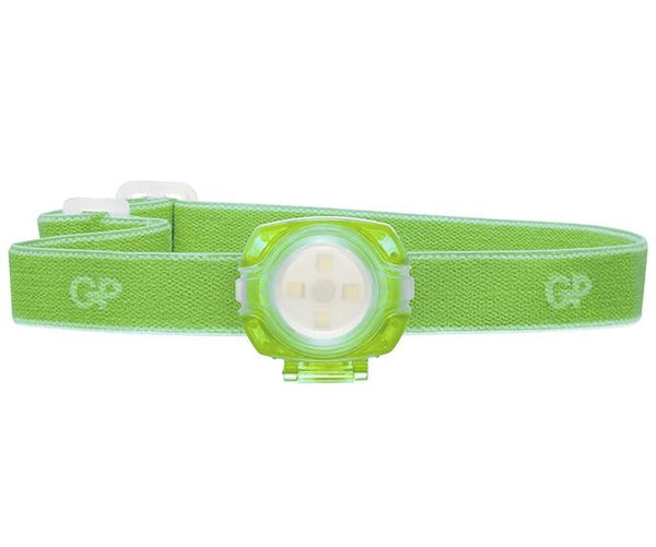 GP Discovery CH31 Childrens Head Torch Green with 2 x CR2025