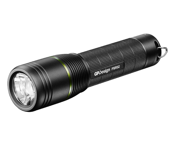 GPDesign beam PSR52 Hi-Lumen Multi-Power Torch with 1 18650