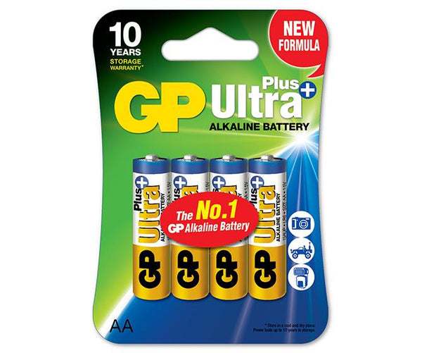 GP Ultra Plus Alkaline AA