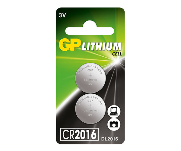 GP Lithium Button CR2016 (DL2016)