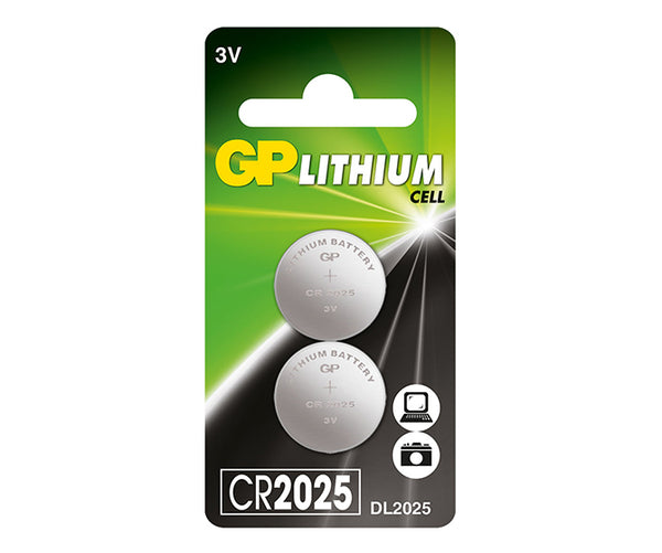 GP Lithium Button CR2025 (DL2025)