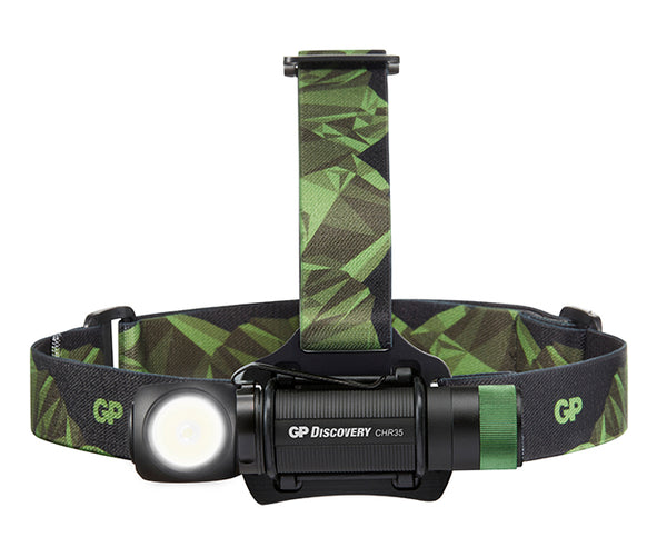 Discovery Rechargeable Multipurpose Headlamp & Flashlight 600lm - CHR35