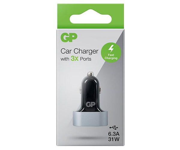 Car Charger CC61 Tri USB-A