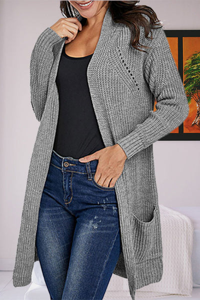 Ootdgal Open Loose Cardigan