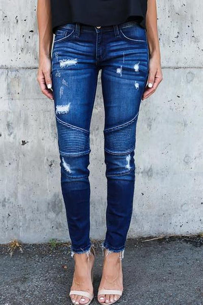 Ootdgal Hartford Distressed Skinny Jeans