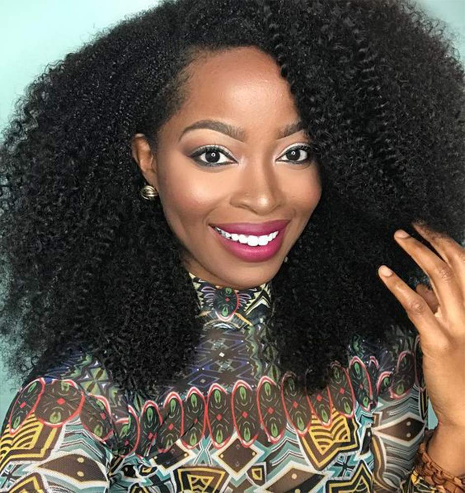 Afro Kinky Curly Lace Front Wigs Brazilian Virgin Human Hair For African Americans Full Lace wigs
