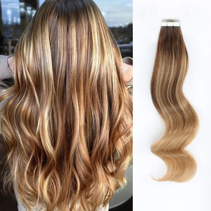 Tape In Hair Extension B#4/#27