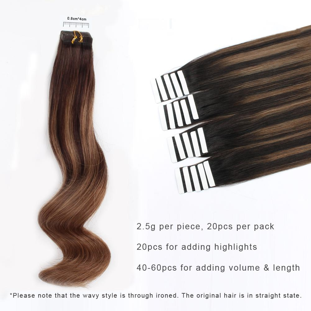 Tape In Hair Extension B#2/#6