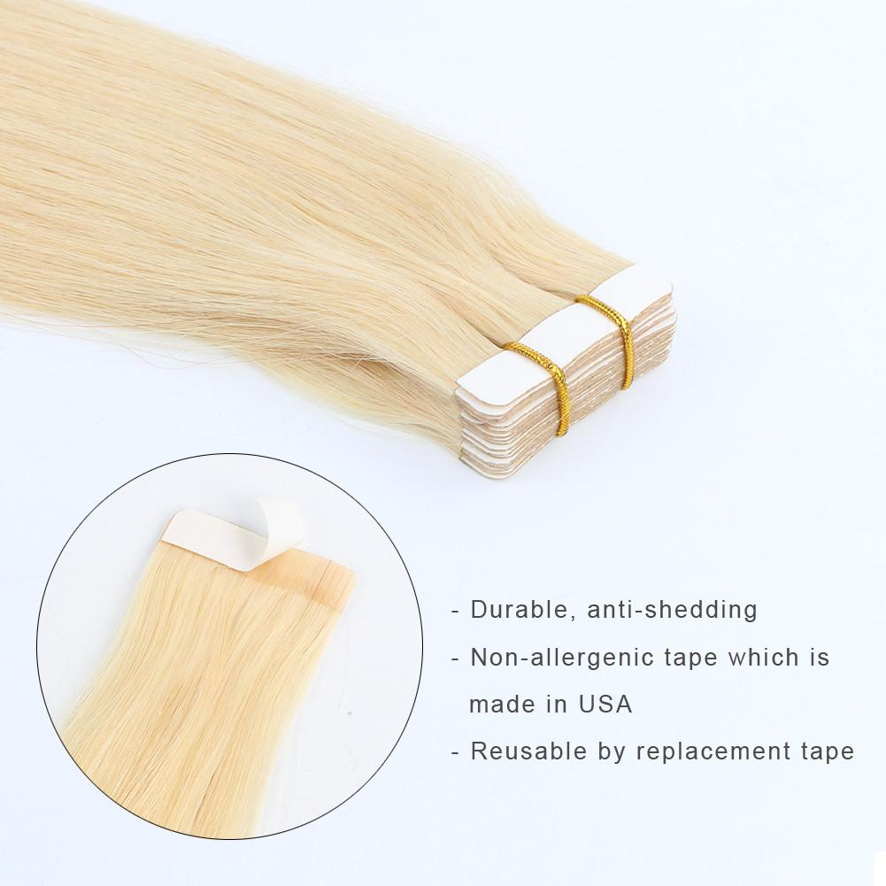 Tape In Hair Extensions #22 Medium Blonde