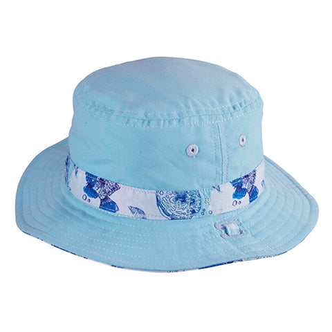 Baby Boys Bubble Bucket Hat - Reversible