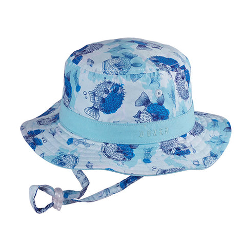Image of Baby Boys Bubble Bucket Hat - Reversible