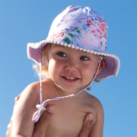 Image of Baby Girls Millymook Coco – Swim Floppy Hat