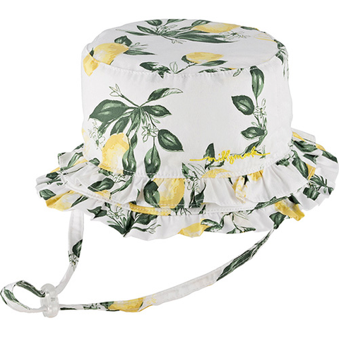 Baby Girls Layla Bucket Hat – Cotton
