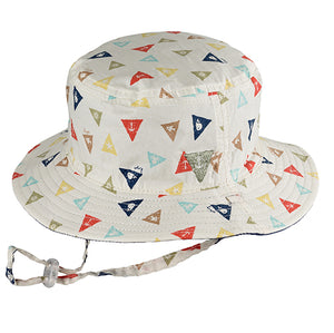 Baby Boys Ahoy Bucket Hat - Reversible