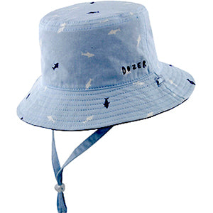 Baby Boys Deep Sea Bucket Hat - Reversible