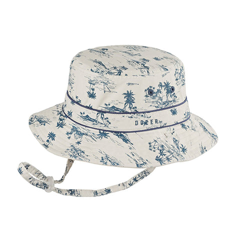 Image of Boys Louie Cotton Hat - Reversible & Adjustable