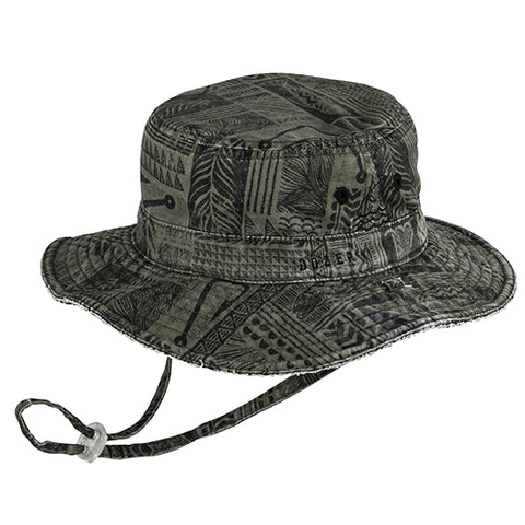 Image of Boys Cotton Baxter Floppy Hat - Reversible