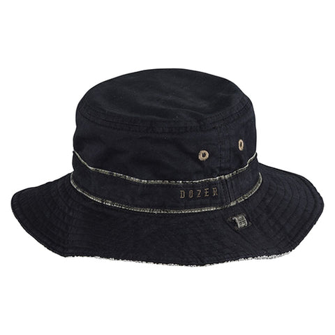 Boys Cotton Baxter Floppy Hat - Reversible