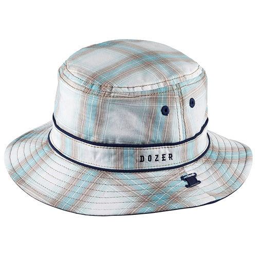 Baby Boys Ethan Cotton Bucket Hat - Reversible