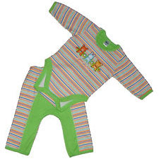Baby Boys Stripe Set - Animals