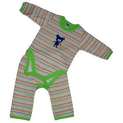 Baby Boys Stripe Set - Teddy