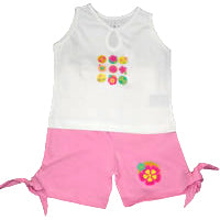 Baby Girls Retro Set - Pink