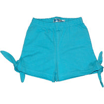Baby Girls Shorts - Aqua