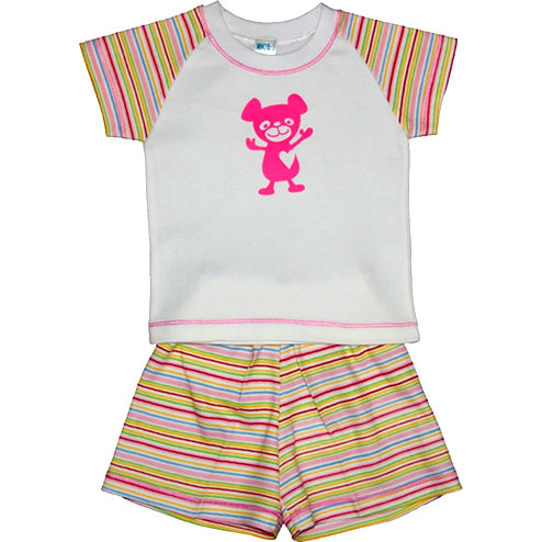 Baby Girls Teddy Set
