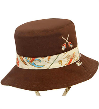 Baby Boys Outrigger Bucket Hat - Reversible