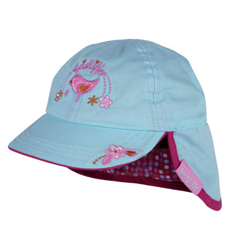 Baby Cakes Girls Cotton Legionnaire Hat