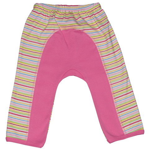 Baby Girls Striped Long Pants