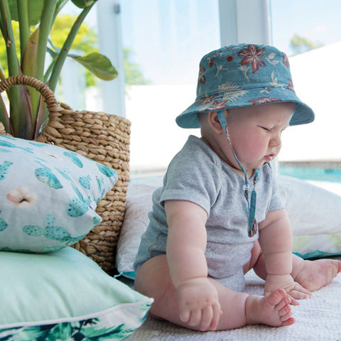 Baby Boys Broden Bucket Hat - Reverible