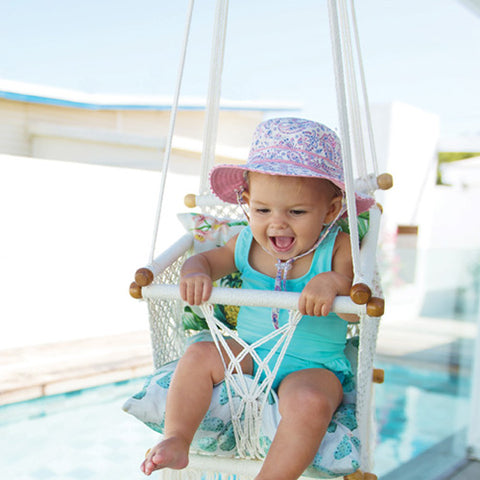 Image of Baby Girls Aldyn Bucket Hat - Reversible