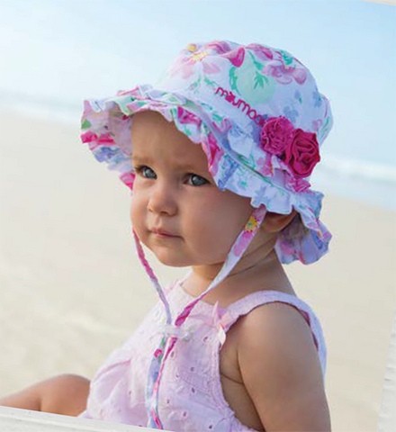 Image of Baby Girls Lola Bucket Hat – Cotton
