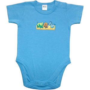 Boys Mix N Match Blue - Zoo Animals